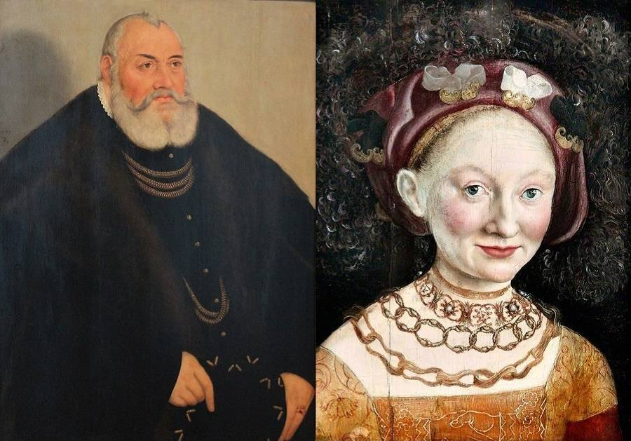 George The Pious Emily Of Saxony