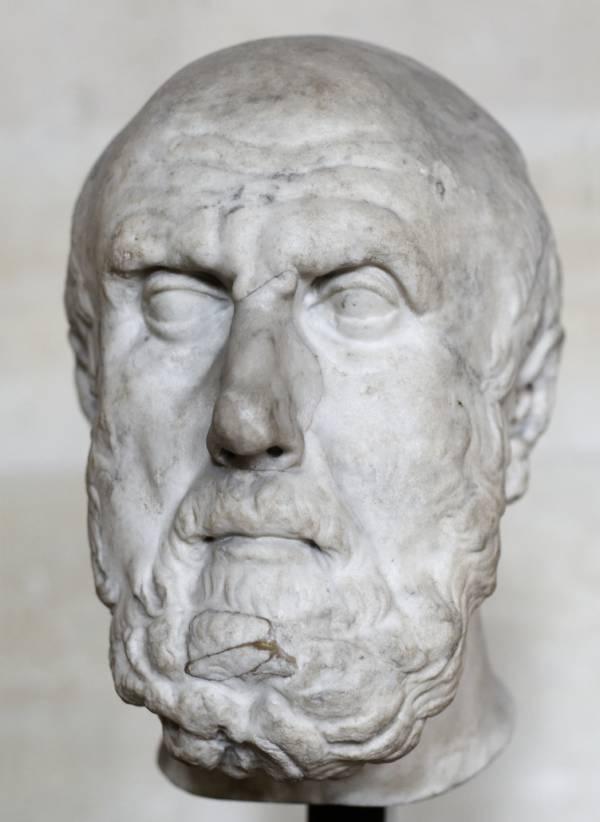 Chrysippus bust