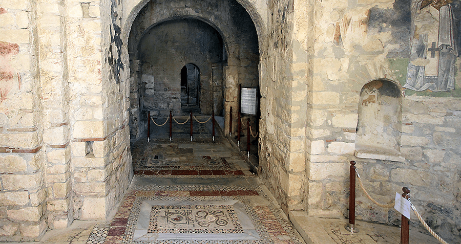 Church of St. Nicholas Mosaics