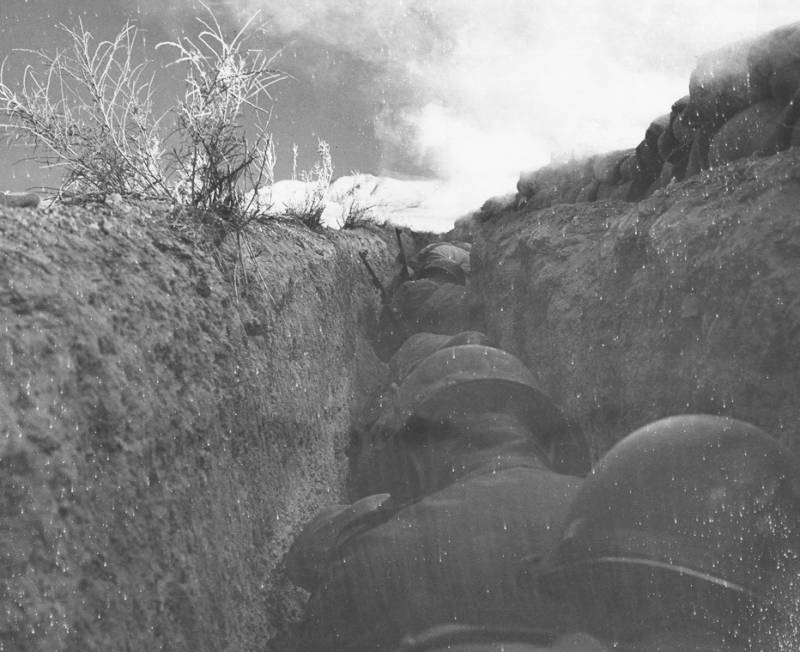 Combat Troops Trench