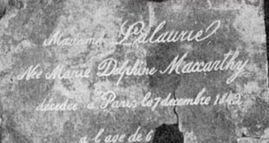 Madame LaLaurie Copper Plate
