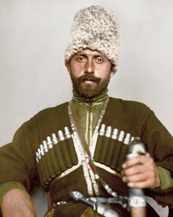 Cossack Man Portrait
