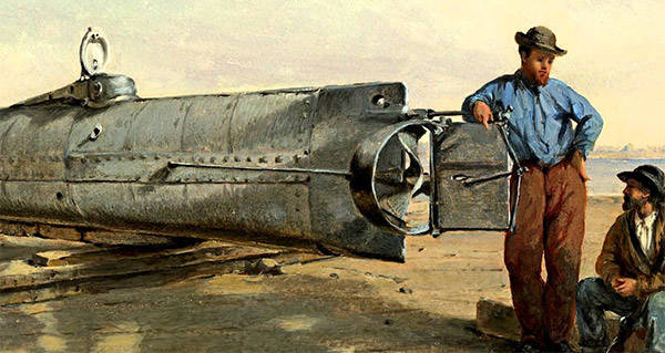 Civil War Mystery Solved? Confederate Sub's Torpedo May Have Killed Its Crew