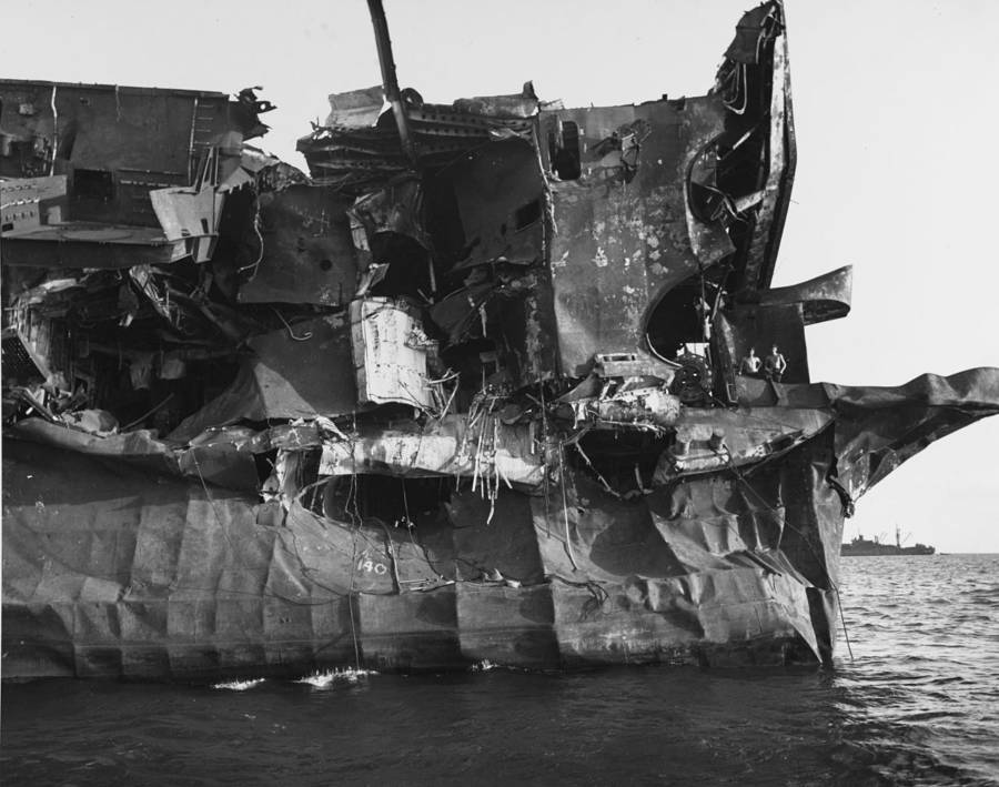 Damage To Uss Independence