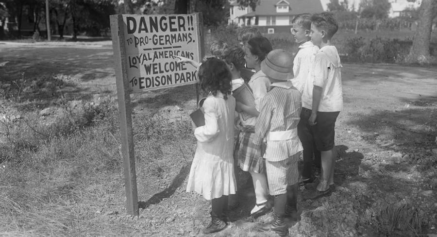 Danger To Pro Germans