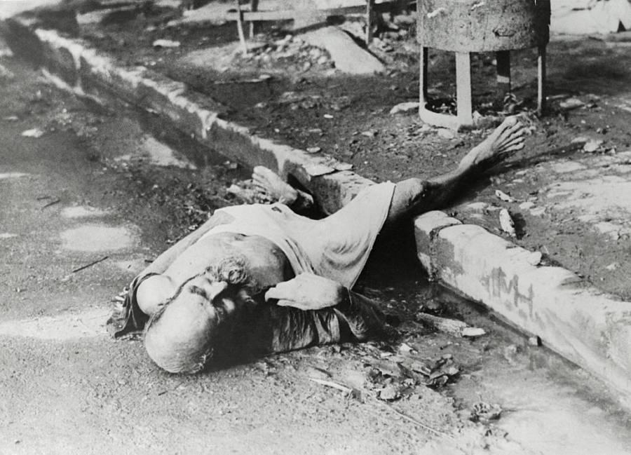 Dead Man On Streets