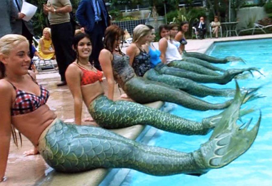 Disneyland Mermaid Tryouts