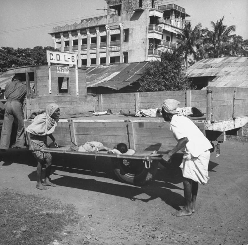 Disposing of Bengali corpses