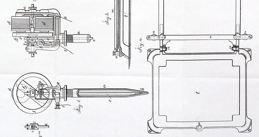 Edison electric pen