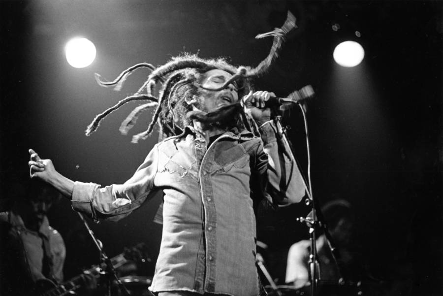 Marley's Long Dreads On Stage
