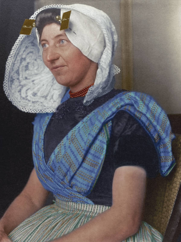 Dutch Woman Portrait
