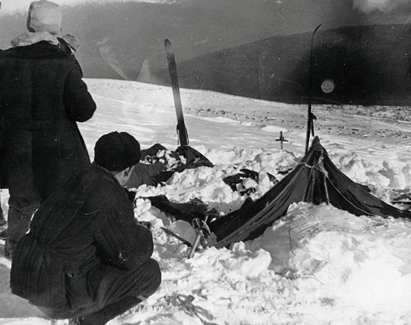 Dyatlov Pass Tent