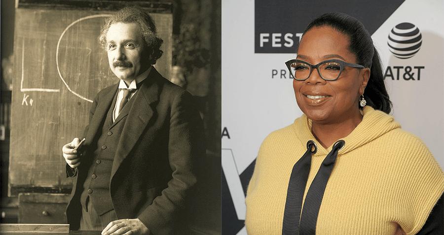 Einstein Oprah