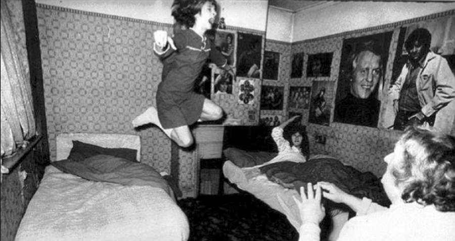 The Enfield Haunting Little Girl Jumping
