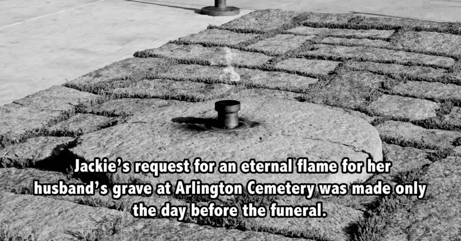 Eternal Flame Jfk Fact Bw
