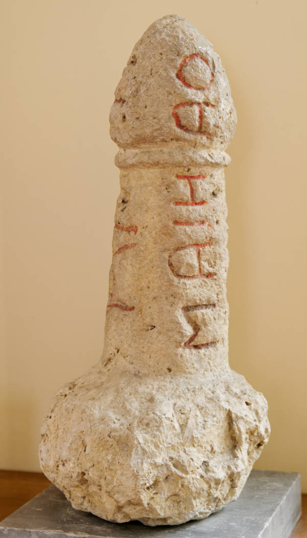 Etruscan Fallic Stele