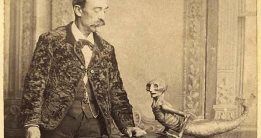 P.T. Barnum's Feejee Mermaid