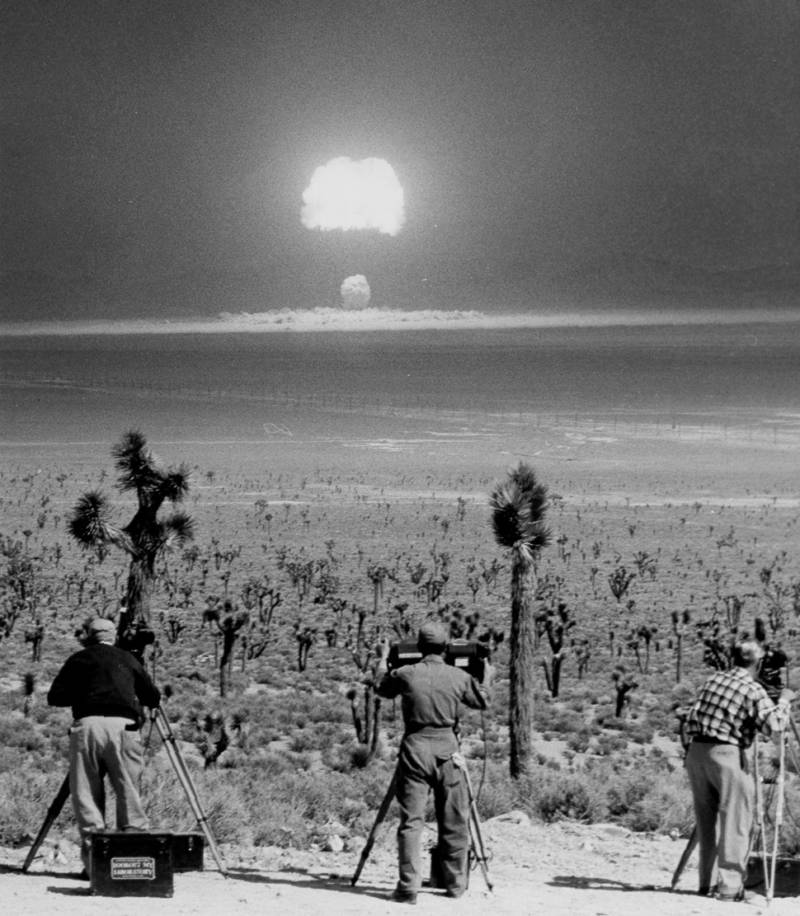 Filming An Atomic Test