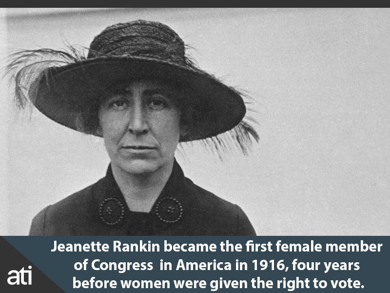 First Female Member Of Congress