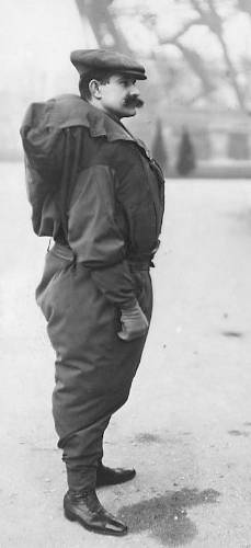 Franz Reichelt Before Jump