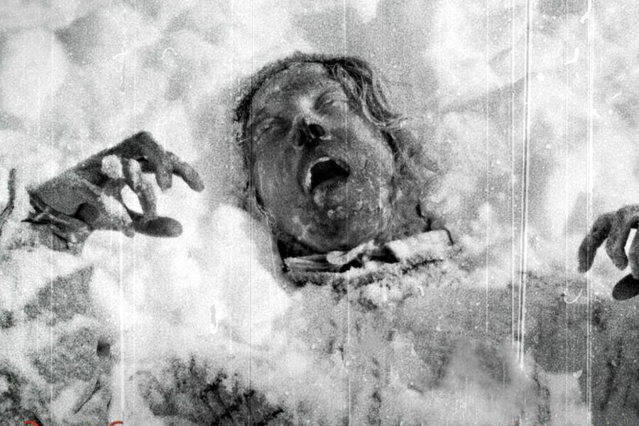 Frozen Corpse From Dyatlov Pass
