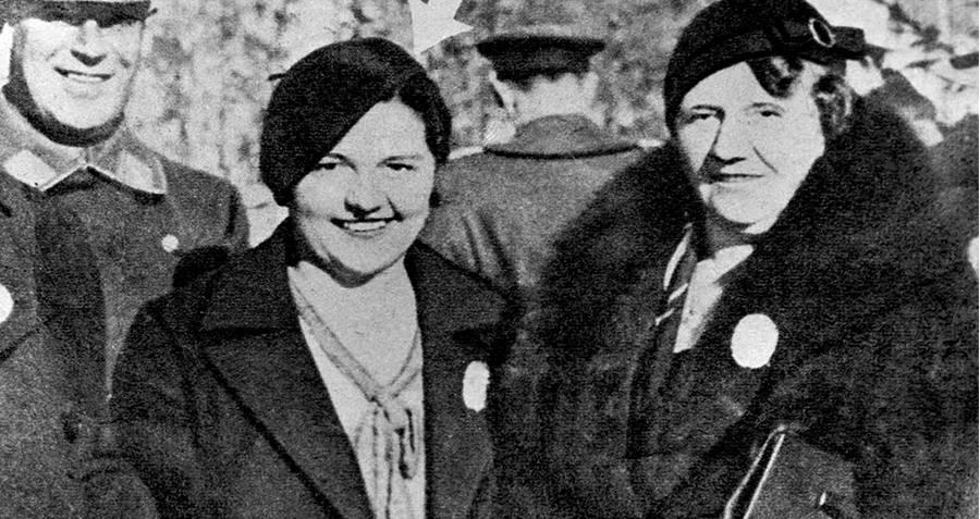 Geli And Angela Hitler