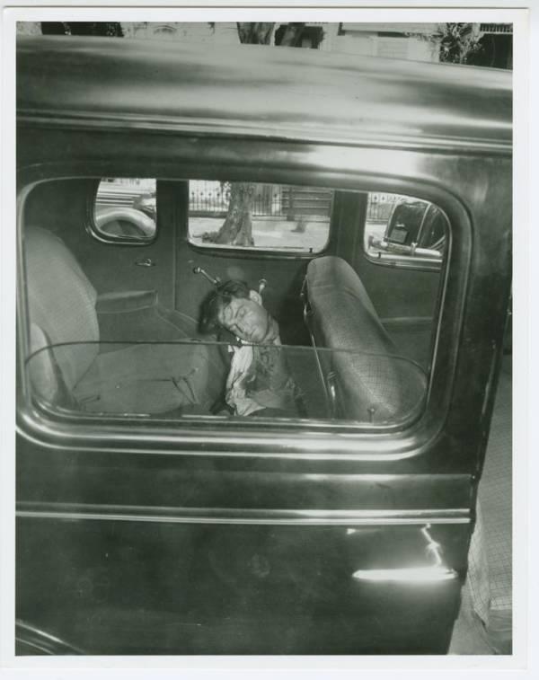 George Rudnick In Car