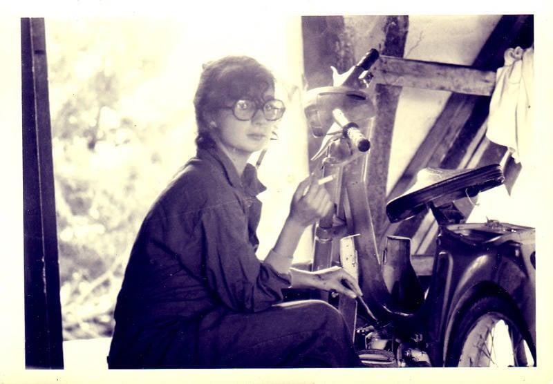 Glasses Mechanic Girl