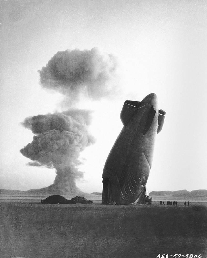Goodyear Blimp Nuclear Test