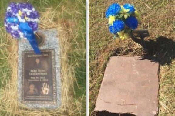 Grave Marker Removed