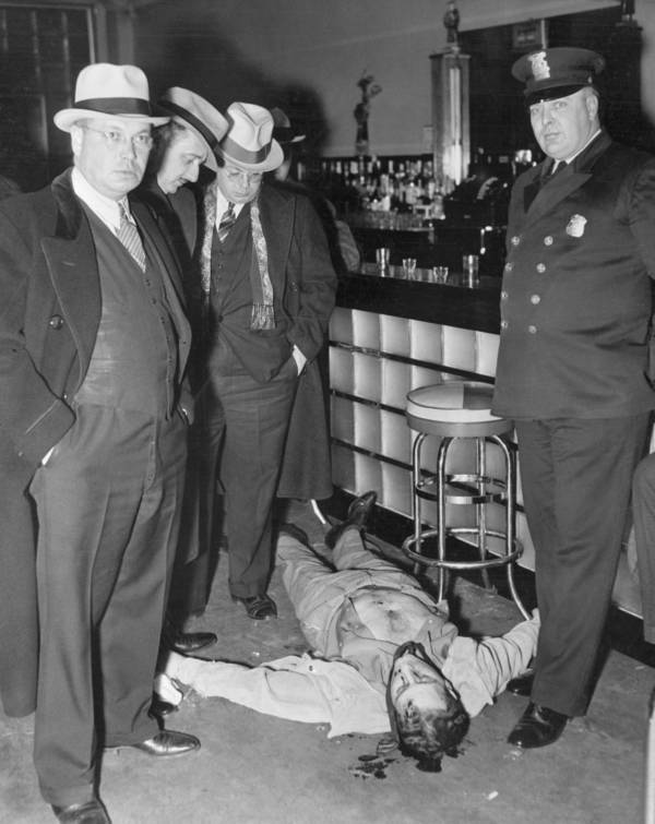 Harry Millman Death Scene