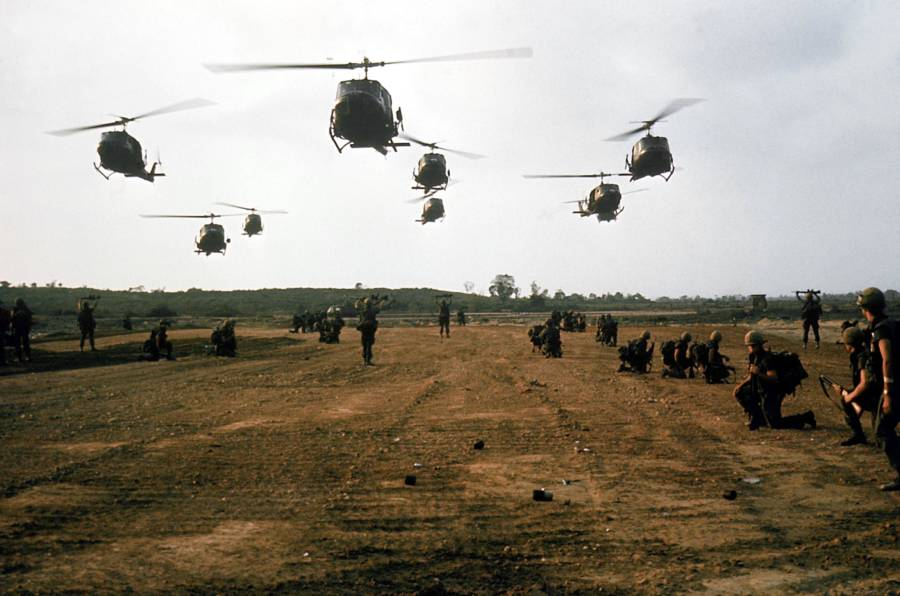 Helicopters In The Vietnam War