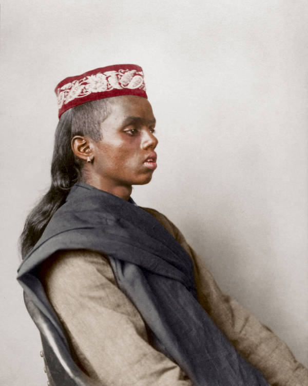 Hindoo Boy Portrait