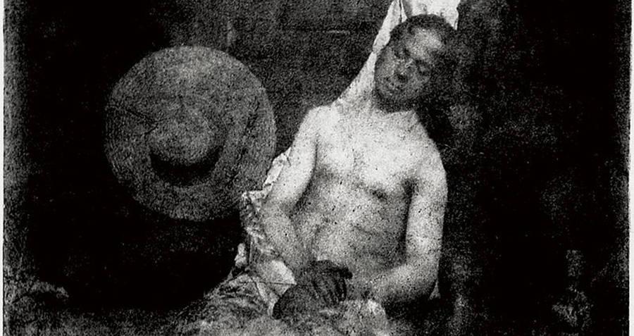 Hippolyte Bayard dead body photo