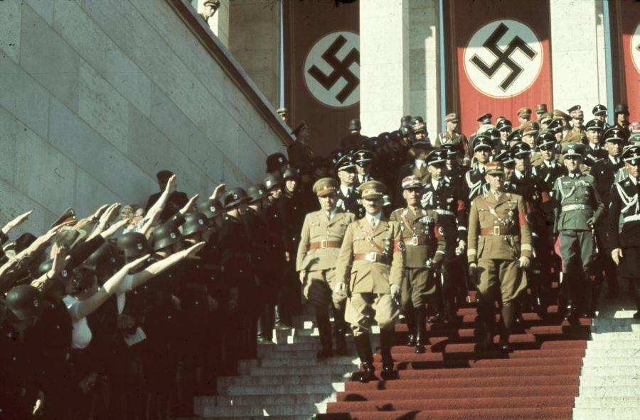 Hitler At Nuremburg Rally