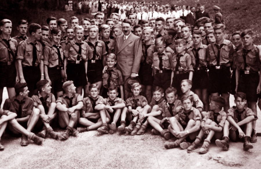 Hitler Youth Large Group
