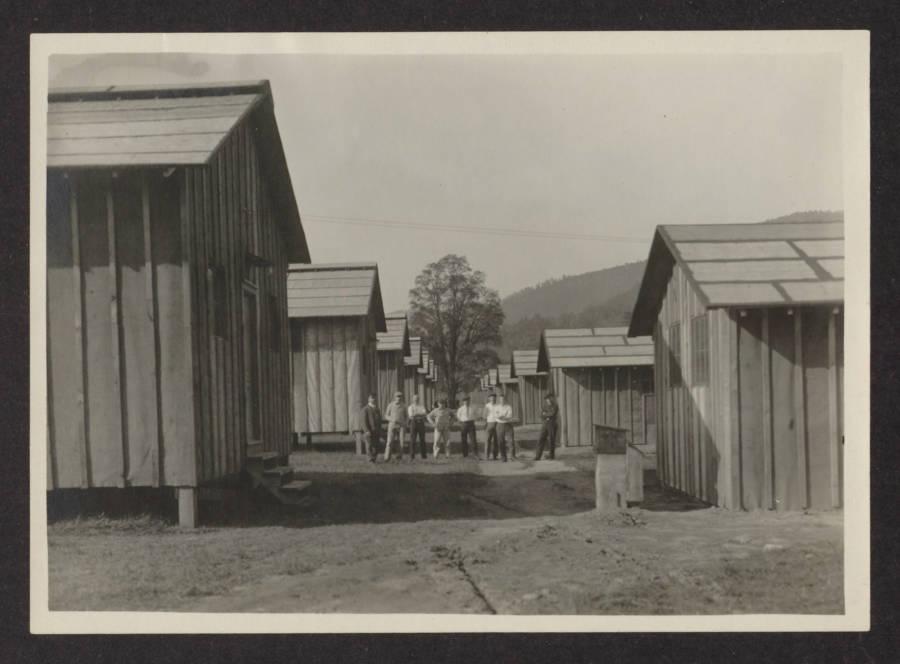 Hot Springs Internment Barracks