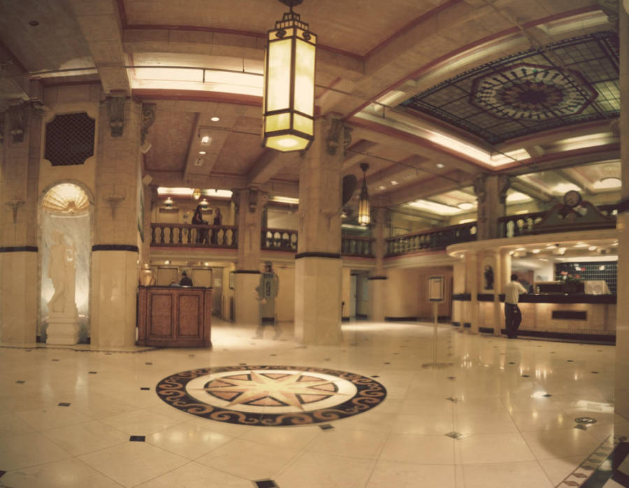 The Lobby Of The Cecil Hotel