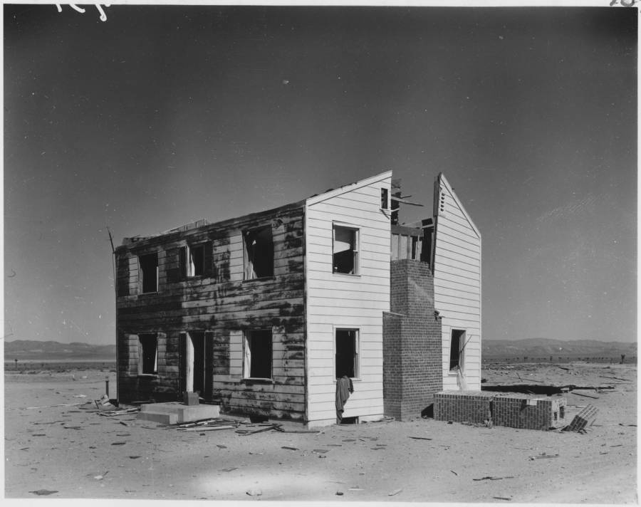 House After Nuclear Blast