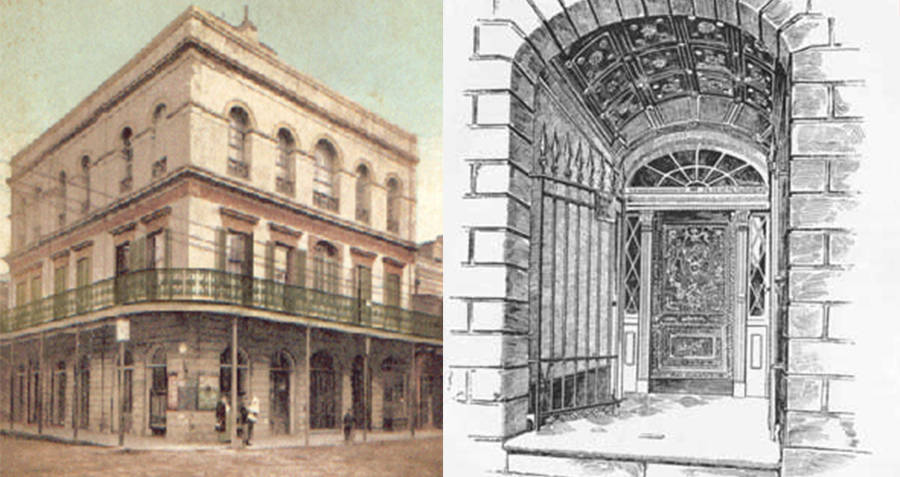 Drawings Of Madame LaLaurie's House