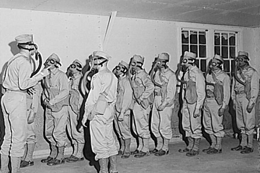 Human Experiments With Mustard Gas