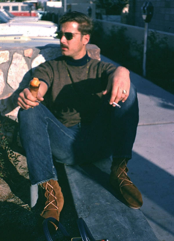 Man In Moccasins