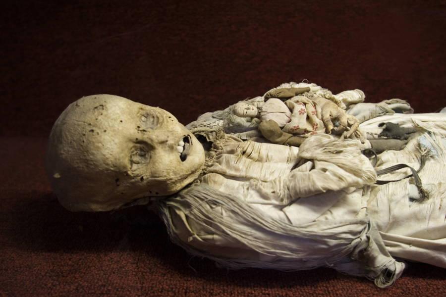 Infant Mummy
