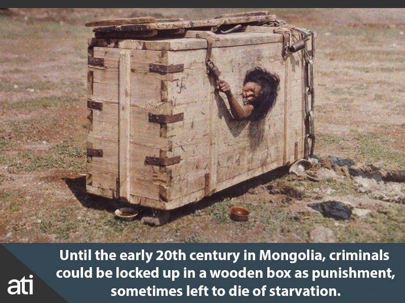 Interesting History Facts Mongolia Punishment