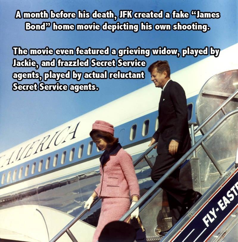 Jfk Bond Facts