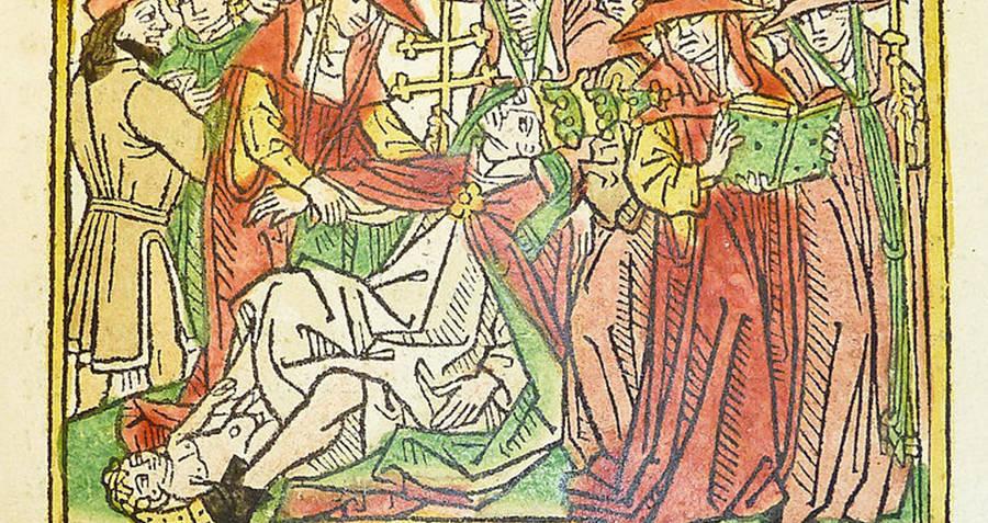 Pope Joan Illustration