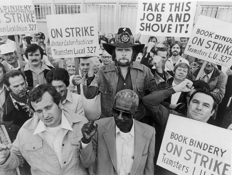 Johnny Paycheck and the Teamsters