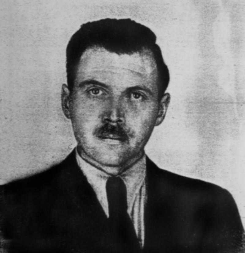 Josef Mengele Portrait