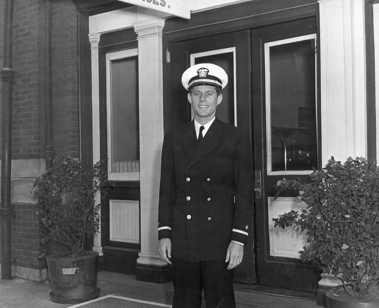 John Kennedy In The Navy