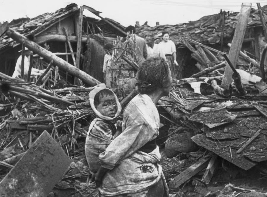 Korean War Atrocities Bombing